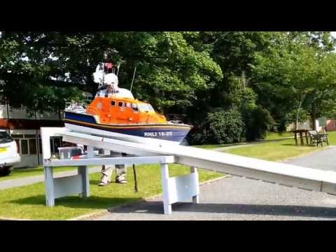 Model of RNLB Kiwi   Moelfre Lifeboat