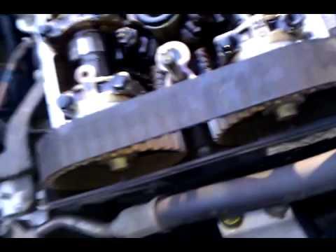 Acura Integra Timing Belt Ripped Valves Bent YouTube - Acura integra timing belt