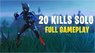 20 Kills Solo | Console - Fortnite Gameplay