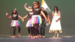vuclip NWA 2015 August 15 kids dance chuck de India from team bang bang.