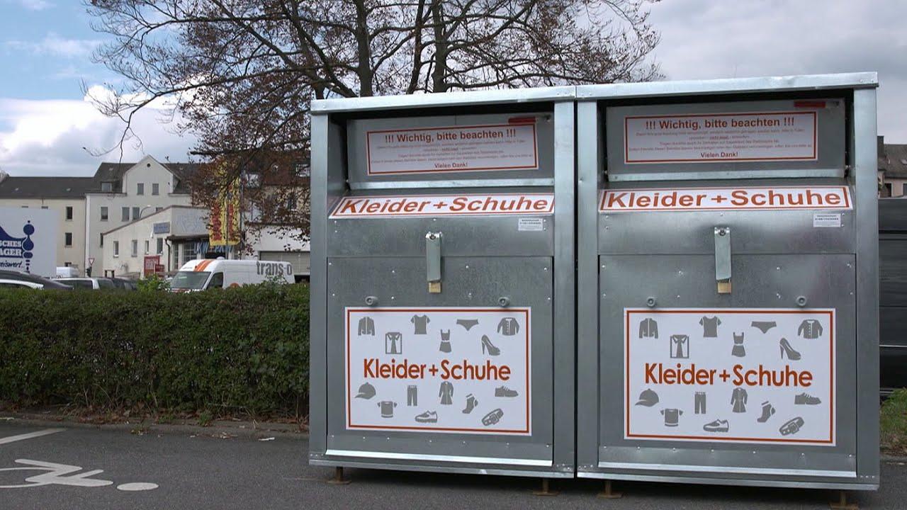 Impressing Container Aufstellen Ohne Baugenehmigung Decoration Of Altkleidercontainer: Lukrative Geschäfte Mit Gebrauchter Kleidung -