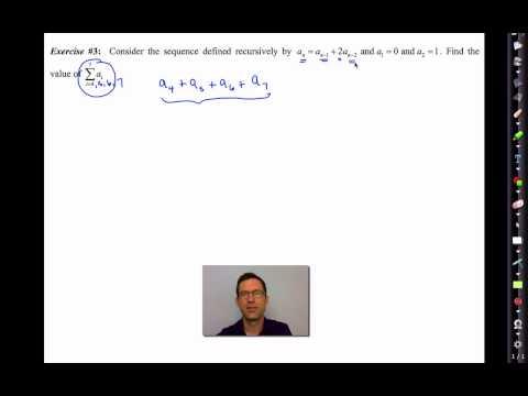 Common Core Algebra II.Unit 5.Lesson 3.Summation Notation