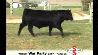 7AN306  Werner War Party 2417