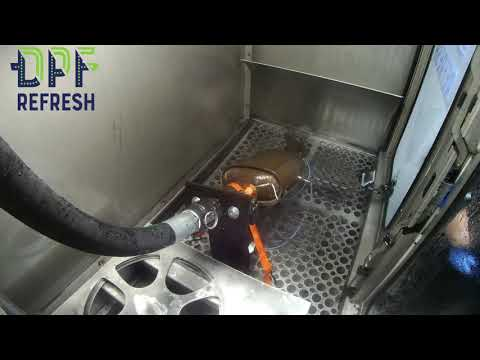 DPF Filter Cleaning (Ford Kuga 2013)