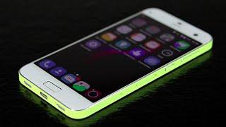 Обзор смартфона ZTE Blade S7: модный девайс для селфи + сканер радужки и отпечатков пальцев