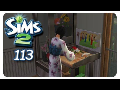 Ellie: Floristin aus Leidenschaft #113 Die Sims 2 - Alle Addons - Gameplay [1080p]