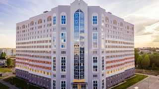 Новое общежитие ГрГУ с высоты птичьего полёта!