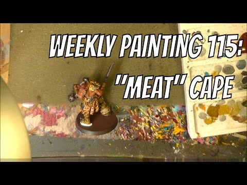 Weekly Painting 115: Meat Cape