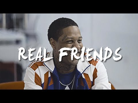 "[FREE] Lil Durk x YFN Lucci Type Beat 2017 - ""Real Friends"" (Prod. By @SpeakerBangerz)"