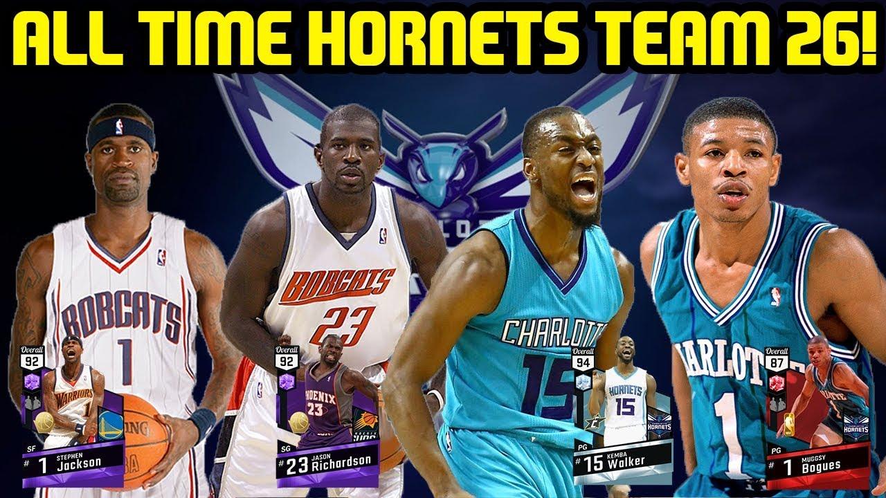 ALL TIME HORNETS #26! WORST TEAM YET! NBA 2K17 MYTEAM ONLINE