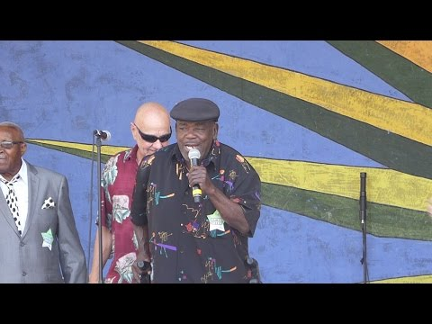 Clarence Frogman Henry at 2017 New Orleans Jazz and Heritage Festival