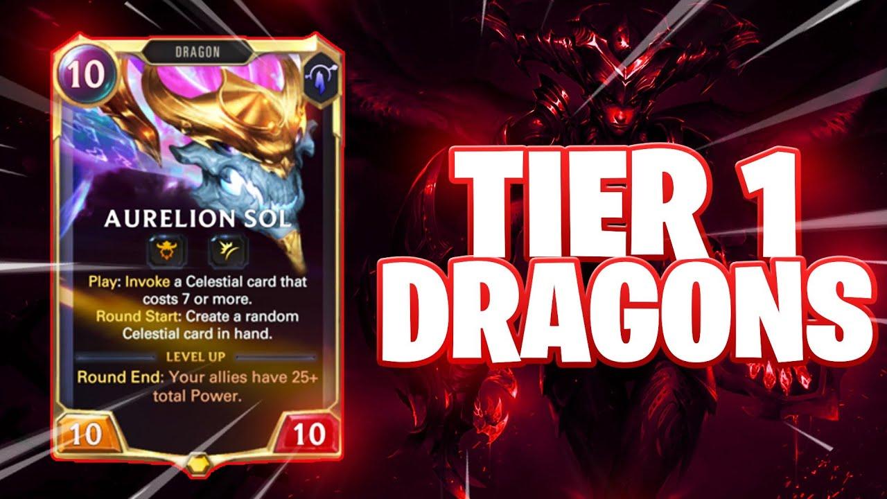 Tier 1 DRAGON GUIDE| Jarvan / Shyvana / Asol| Legends of Runeterra