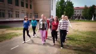 урок физкультуры выпускники Чашники СШ 2 физра школа