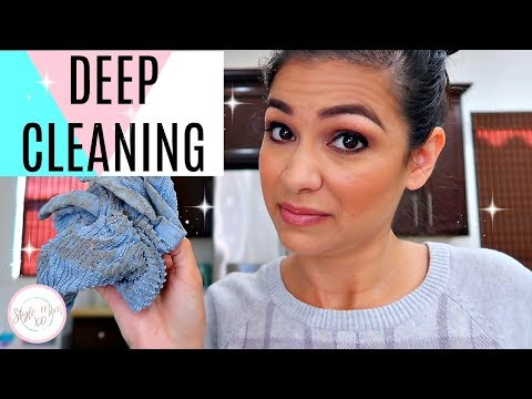 CLEANING ROUTINE 2018 | THINGS WE PUT OFF CLEANING | Style Mom XO