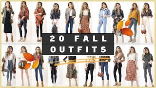 20 FALL OUTFIT IDEAS | The Ultimate Fall Lookbook | Nordstrom Try On Clothing Haul | Miss Louie