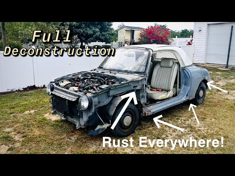 Full Deconstruction Of The Nissan Figaro (Part 2)