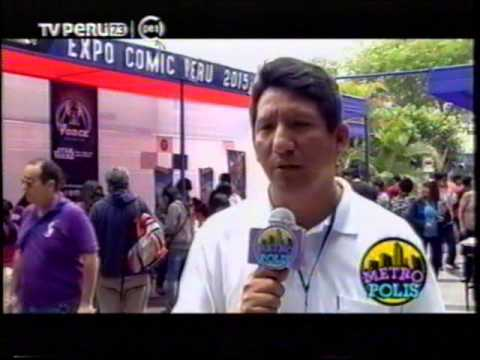 Nota -  Imagine Expo Comic Peru 2015