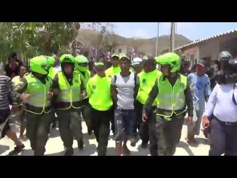 Así fue el Bololó en la captura de asesino en Puerto Colombia