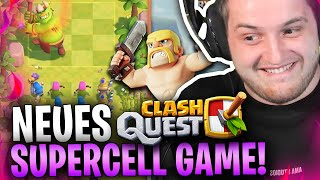 😍🔥NEUES HIT Game von SUPERCELL?! | Clash Quest DELIVERED EXTREMST! [Soft Launch]
