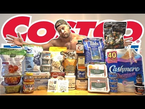 COSTCO FOOD ESSENTIALS - My Grocery Shopping List To Bench 500lbs   ROAD TO 500 EP 9