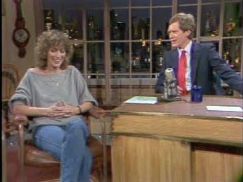 Penny Marshall On Letterman, February 1, 1984