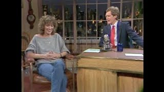 Penny Marshall On Letterman, February 1, 1984