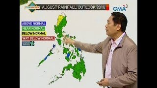 UB: Weather update as of 6:02 a.m. (Aug. 1, 2018)
