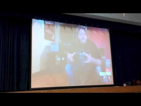 Justin Wren - Skype Interview with Charlton Public School