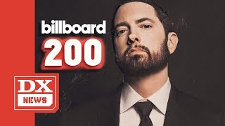 "Eminem Becomes First Artist To Have 10 Consecutive No.1 Albums With ""Music To Be Murdered By"""