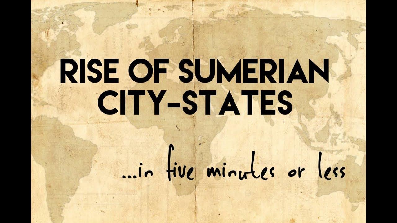 Rise of Sumerian City-States