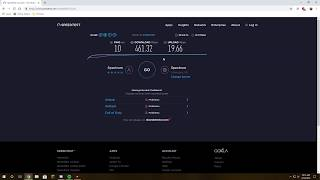 Spectrum Internet | Ultra Plan Speed Test