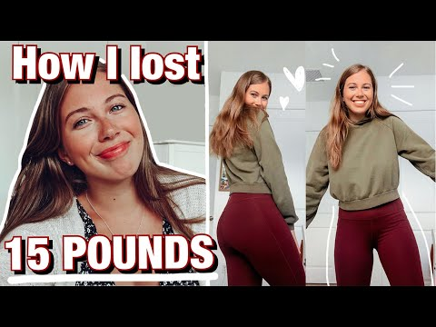 HOW I LOST 15 POUNDS | my weight loss journey and struggles