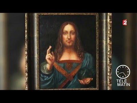 hqdefault - L'Art :  Léonard de Vinci 14 5 2-1519  Peintre, écrivain el inventeur