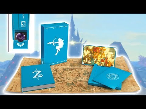 Zelda Breath of the Wild - Creating a Champion Hero's Edition Unboxing