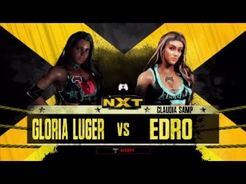 WWE 2K18: Gloria Luger Vs Claudia Sampedro