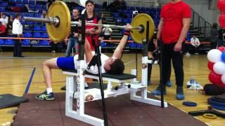 Мукомолов Андрей, русский жим 55 кг, кате. мужчины (с допуском по весу до 75 кг) - 79 раз, 2 место