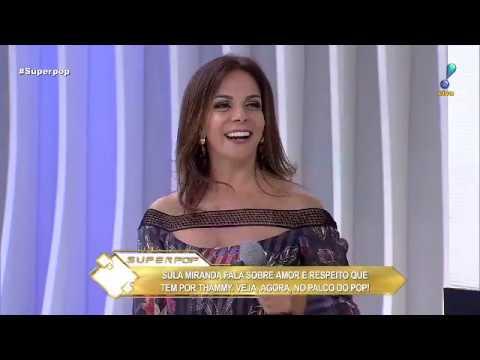 Sula Miranda admite que se preocupa com tratamento hormonal de Thammy