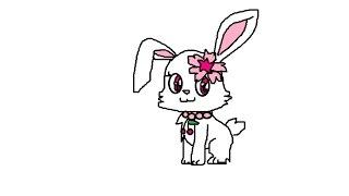 تعلم رسم ربى من حيوانات الجواهر how to draw ruby jewelpet
