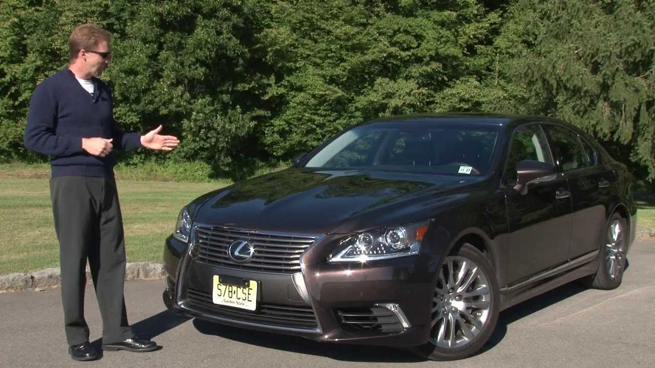Marvelous 2013 Lexus LS 460 AWD   Drive Time Review With Steve Hammes | TestDriveNow    YouTube