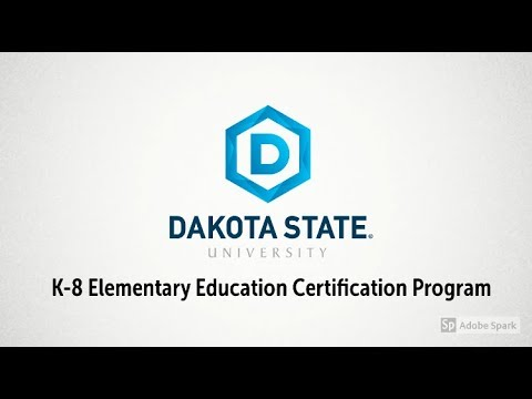 DSU-SDSU K-8 Elementary Education Certification Program (COOP Program)