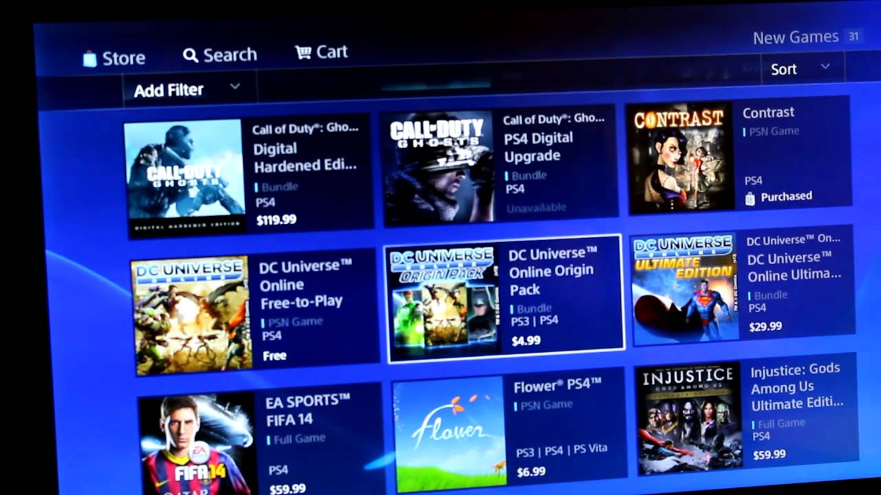 free games on psn store 2013