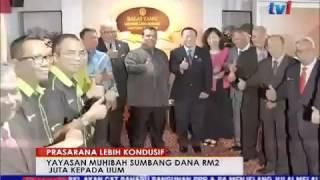 Yayasan Muhibbah Tan Sri Fng Ah Seng Sumbang RM2 Juta kepada TISSA-UUM