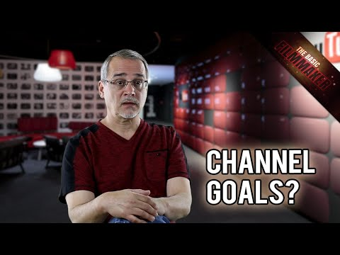 YouTube Advice, Channel, Goals, Schedules - Basic Filmmaker Ep 140