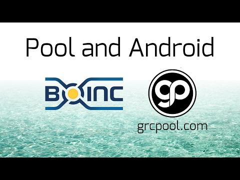 Grcpool.com Android Setup