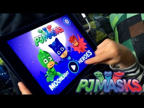 Let's Play PJ Masks Moonlight Heroes - NEW! iPad Game