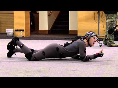 (Extended) Benedict Cumberbatch Smaug Motion Capture