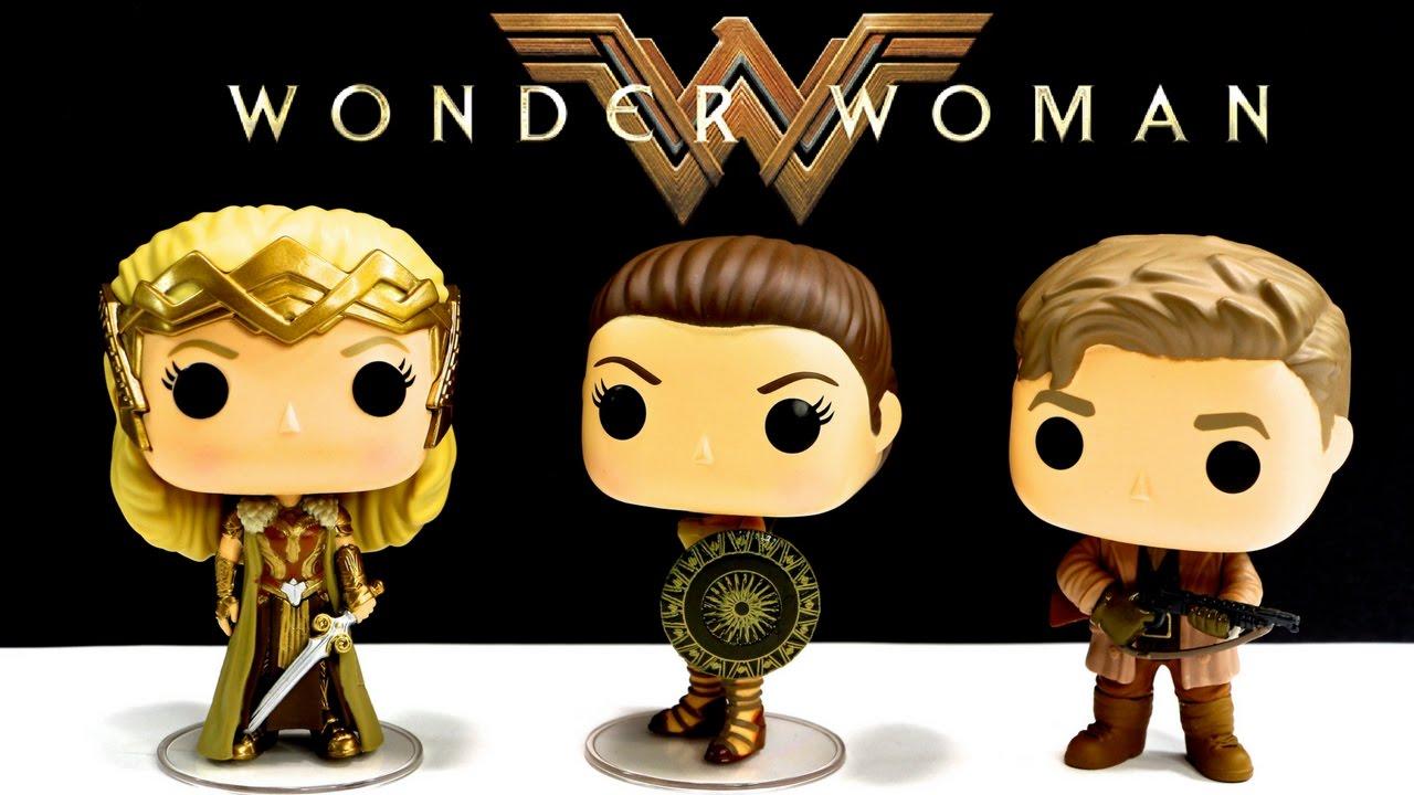 Wonder Woman Movie Funko Dc Comics Pop Vinyl Figures Steve