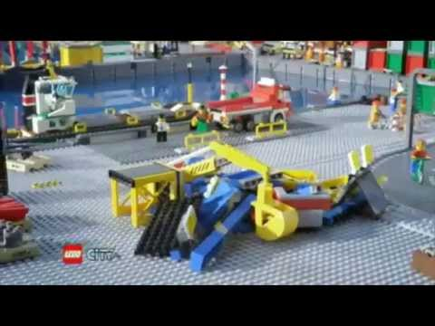 Harbor  - Lego City - TV Toy Commercial - TV Spot - TV Ad