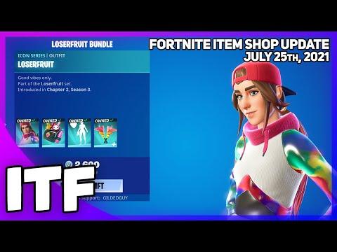Download Fortnite Item Shop CREATOR ICON SHOP! [July 25th, 2021] (Fortnite Battle Royale)