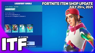 Fortnite Item Shop CREATOR ICON SHOP! [July 25th, 2021] (Fortnite Battle Royale)